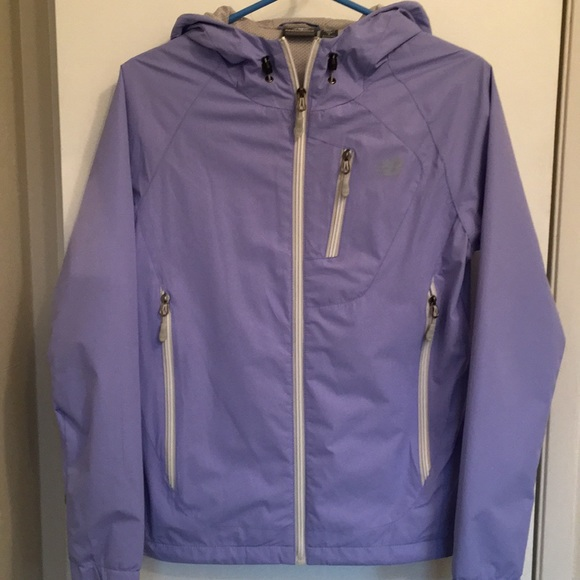 finest selection lovely design look for Lightweight rain jacket. Periwinkle color